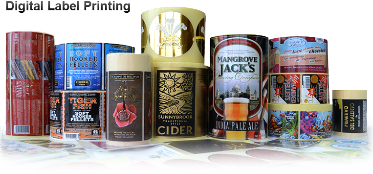 Our digital labelling process uses FDA food safe toners and is fuly deinkable for recycling